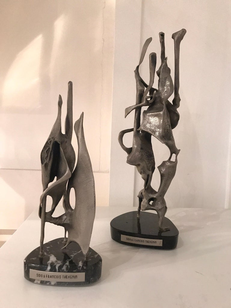 French Sido and Francois Thevenin Sculptures For Sale