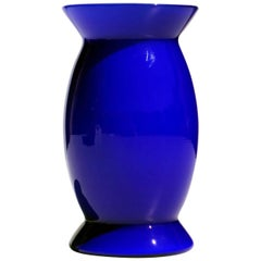 """Sidone"" by Alessandro Mendini for Venini 1990s Murano Glass Vase"