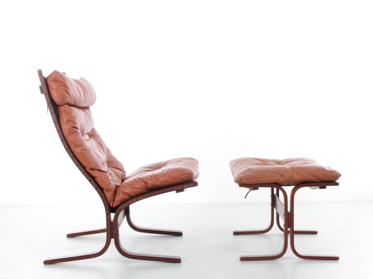 Scandinavian Modern Siesta Chair Low Back by Ingmar Relling For Sale