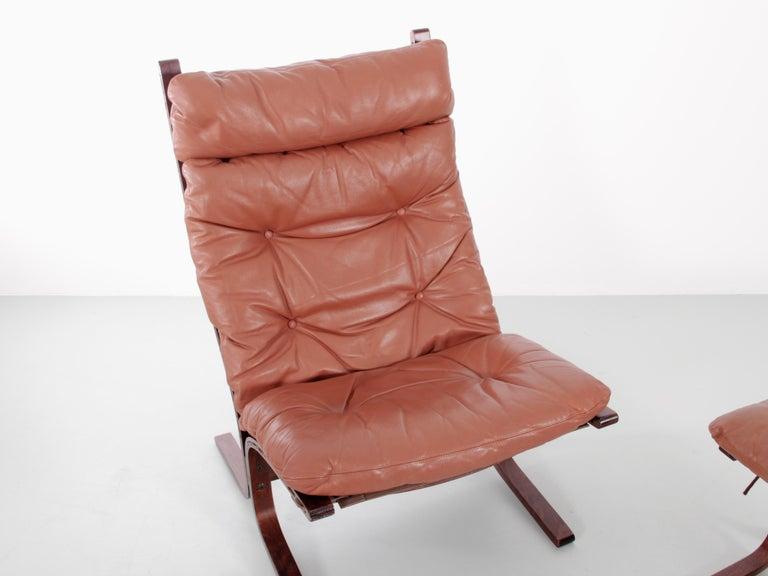 Scandinavian Siesta Chair Low Back by Ingmar Relling For Sale