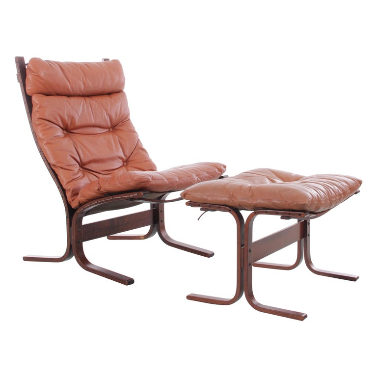 Siesta Chair Low Back by Ingmar Relling For Sale