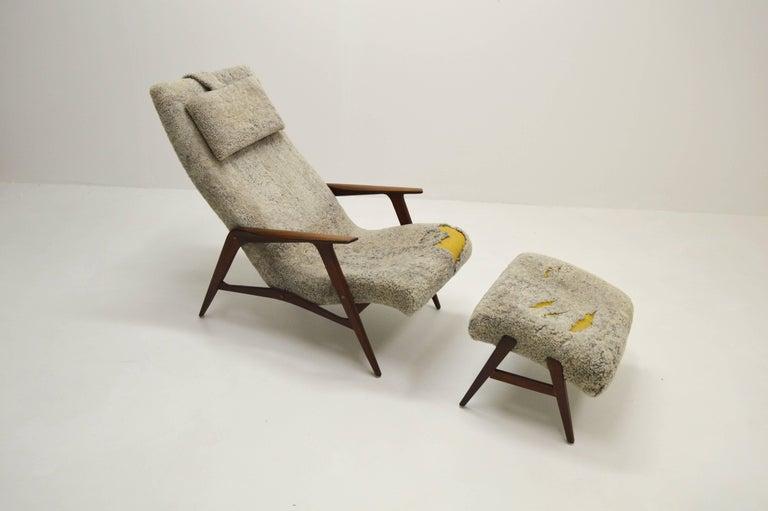 Scandinavian Modern Siesta Lounge Chair by Jio Möbler, Sweden For Sale