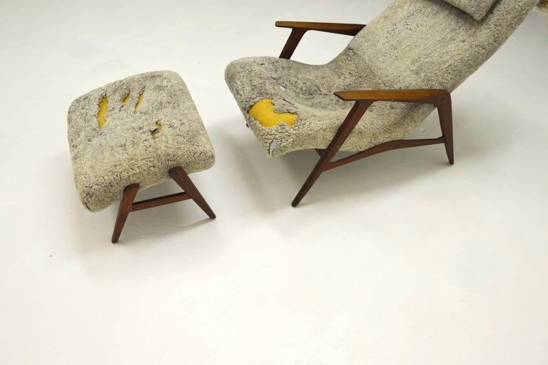 Mid-20th Century Siesta Lounge Chair by Jio Möbler, Sweden For Sale