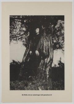 """Der Baum, der meinetwegen hohl gewachsen ist / Portfolio """"Höhere Wesen befehlen"""""""