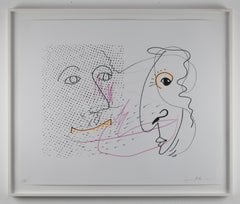 Dur (Major) // Color Lithograph // signed and numbered by Polke