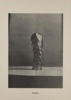 "Glaspalme // Glaspalm / From the portfolio "".....Höhere Wesen befehlen"" / Offset"