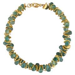 Aqua Apatite Bracelet