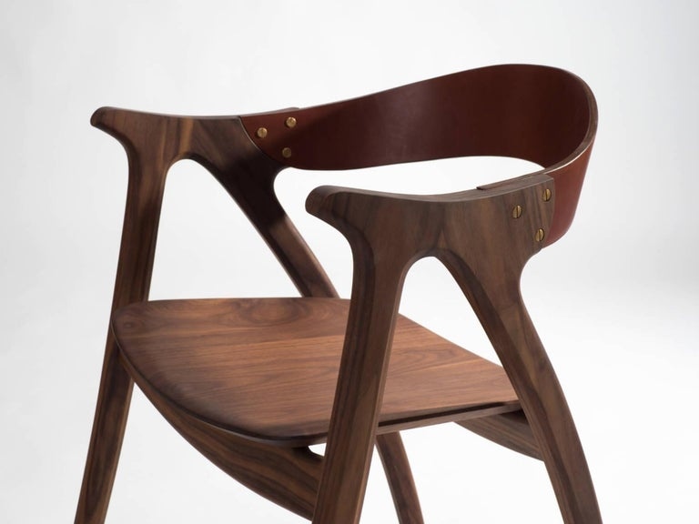 Signature Chair, Ash Hardwood With Natural Leather