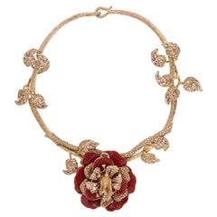 Ines x CINER Signature Flower Necklace