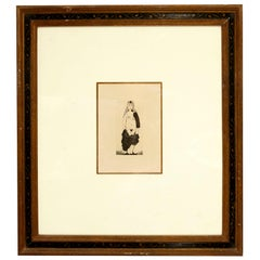 "Signed 1971 Picasso Etching ""La Cestine"" Titled ""Maja a la Robe Dechiree"""