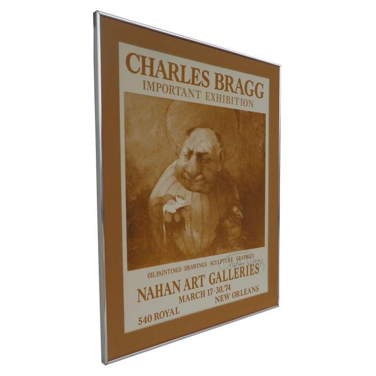 Modern Signed 1974 Charles Bragg New Orleans