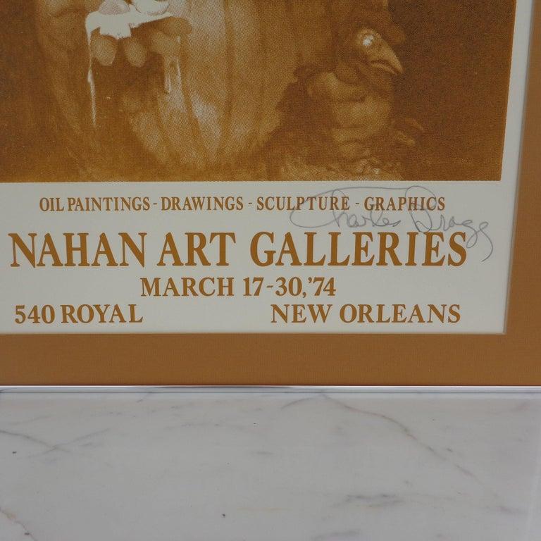 Signed 1974 Charles Bragg New Orleans