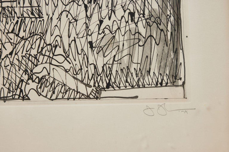 Paper Signed, 1979, Jasper Johns Etching