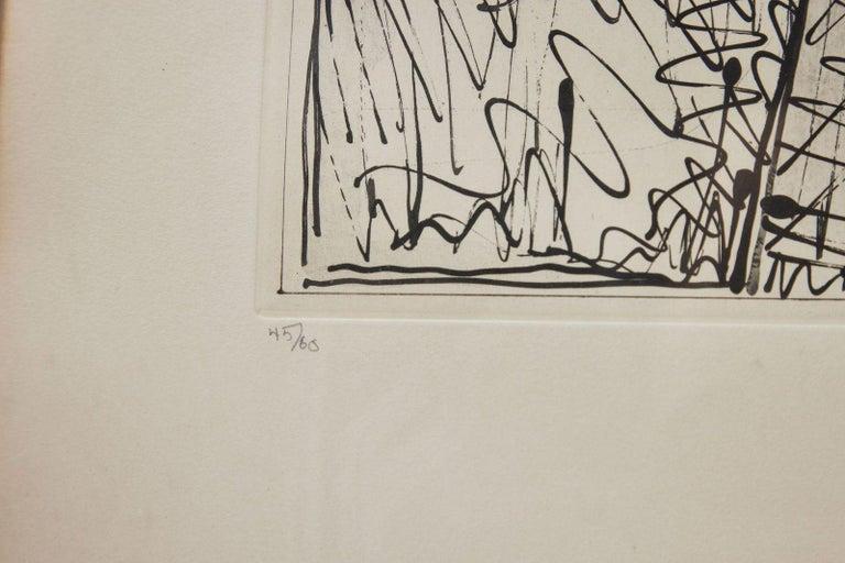 Signed, 1979, Jasper Johns Etching 1