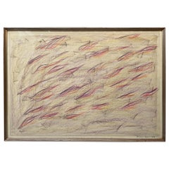 Signed and Certified Pastel on Paper by Claudio Verna