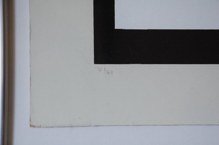 Paper Signed and Numbered Yaacov Agam Lithograph Colors of Love For Sale