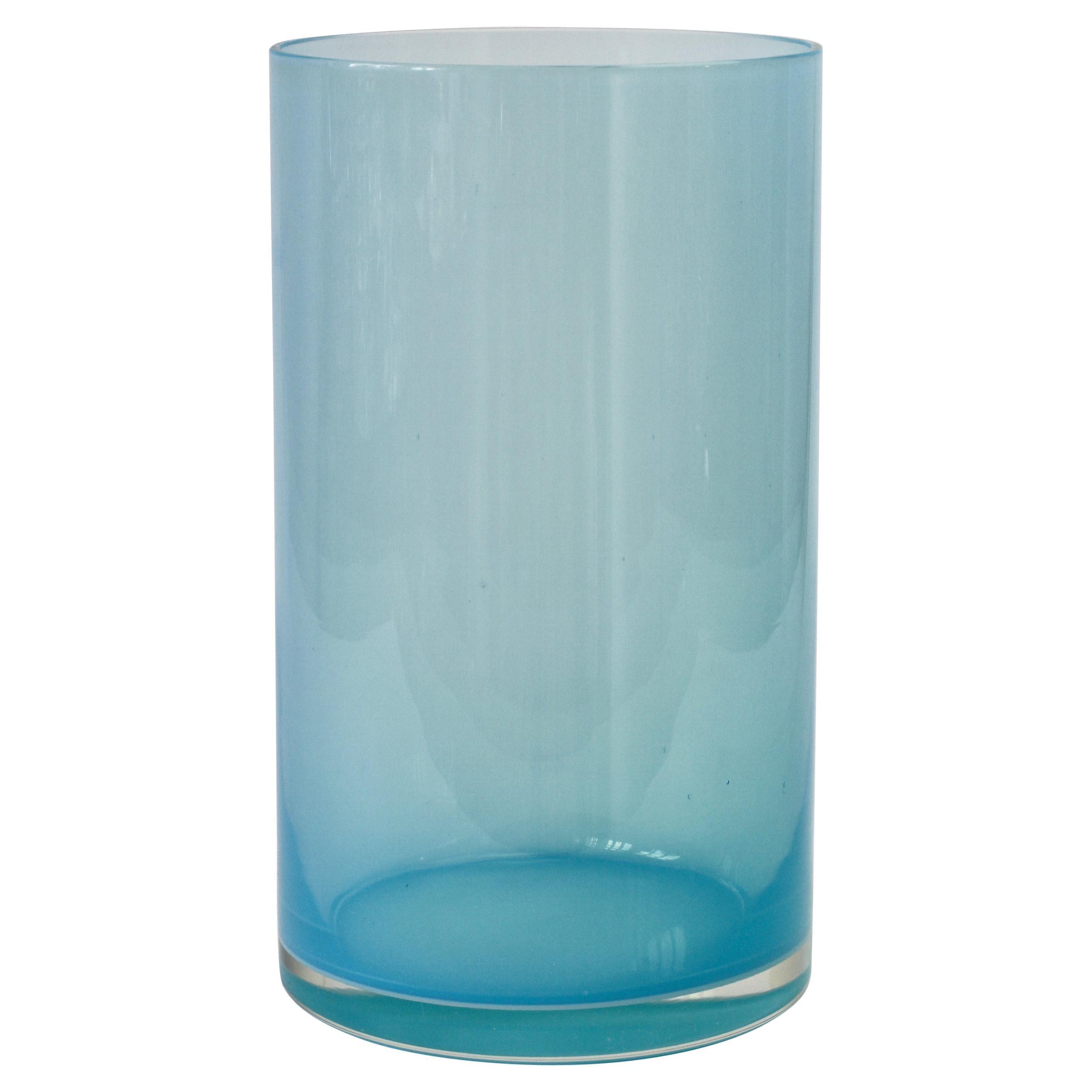 Signed Antonio da Ros for Cenedese Vibrantly Colored Murano Glass Vase