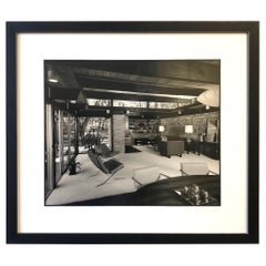 Signed Architectural Photograph by Julius Shulman