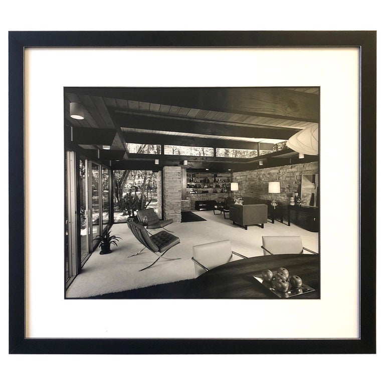 Signed Architectural Photograph by Julius Shulman For Sale