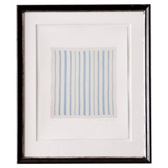 Signed Brent Wadden Untitled, Baby Blanket Contemporary Artwork, 2018