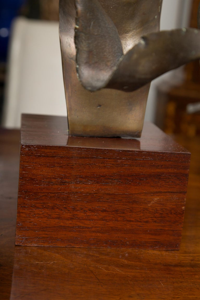 Signed Bronze Bust Signed and Dated, William Ludwig For Sale 1