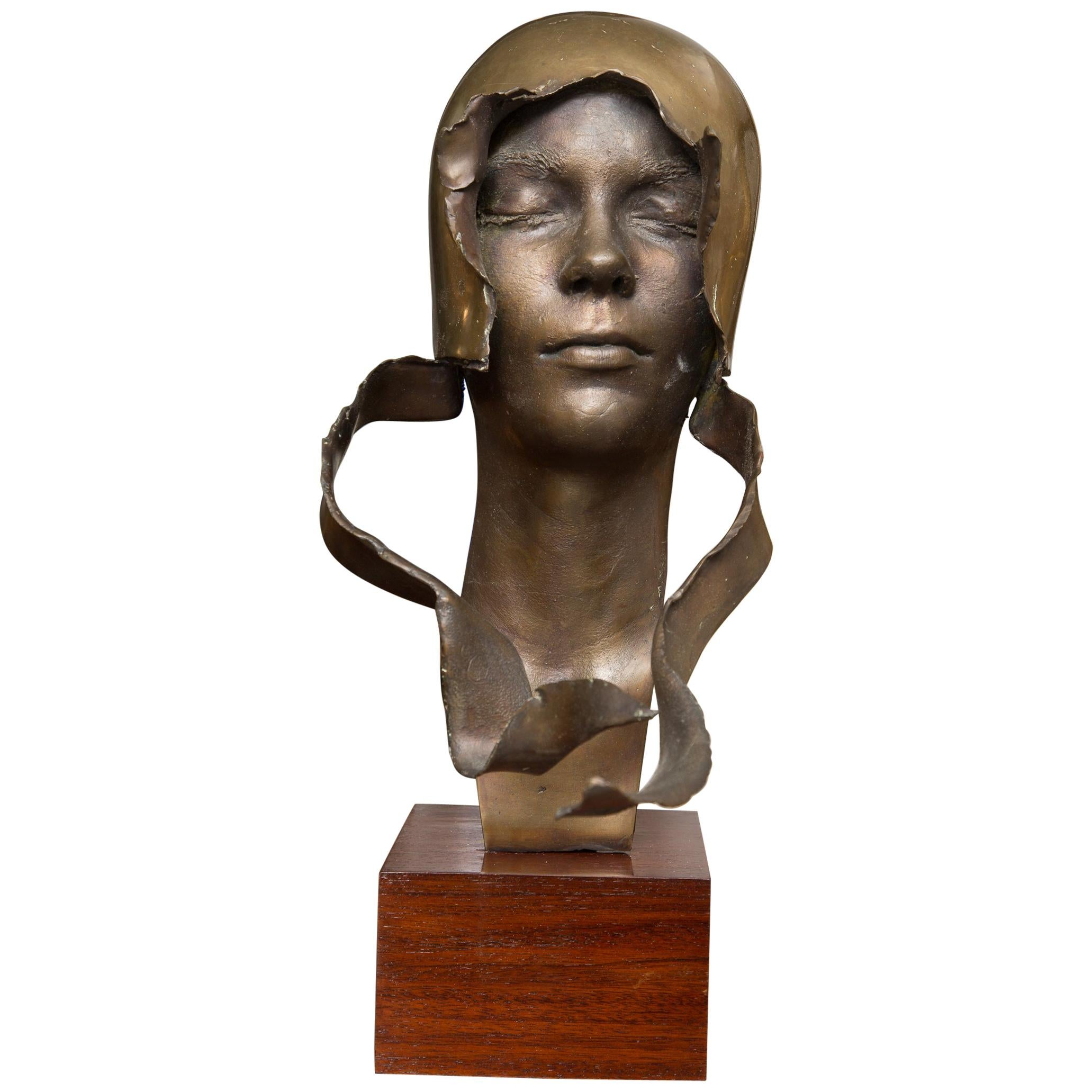Signed Bronze Bust Signed and Dated, William Ludwig