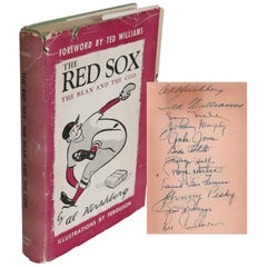 Signed by 1946 Red Sox Team The Red Sox The Bean and The Cod, with LOA