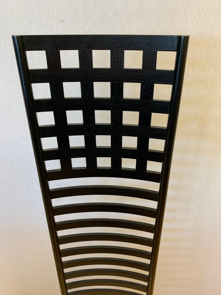 Signed Cassina Charles Rennie Mackintosh Hill House Chair For Sale 2