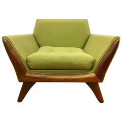 Signed Craft Associates Adrian Pearsall Lounge Chair All Original