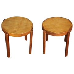 Signed Danish Nesting Side Tables