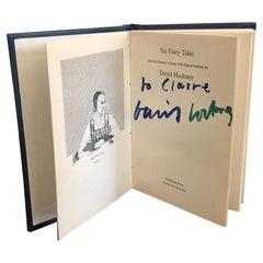 Signed David Hockney 'Six Fairy Tales' Miniature Book, 1970