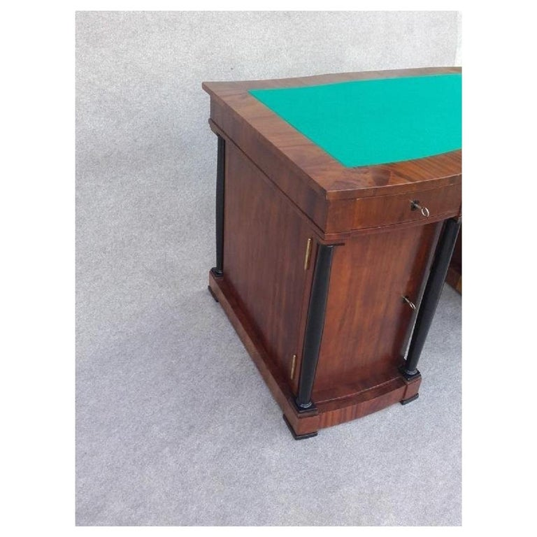 Early 20th Century Signed Desk Biedermeier Mahogany from 1900 For Sale