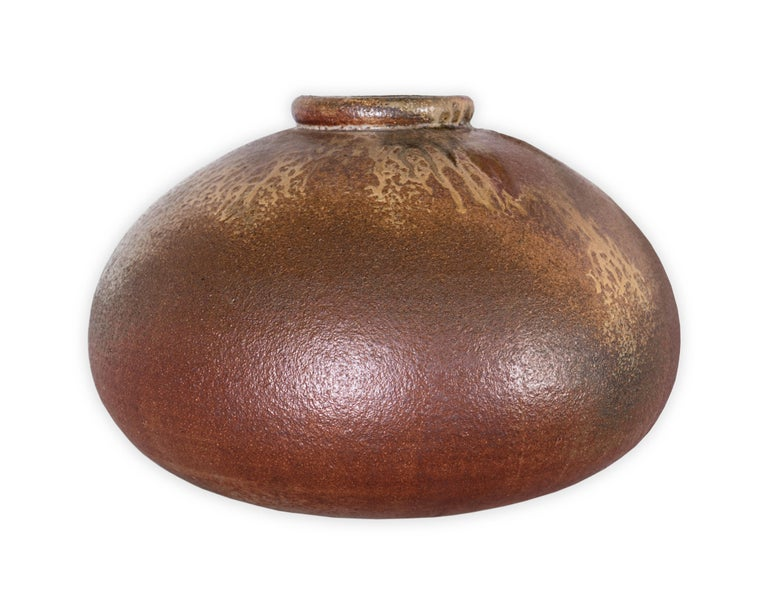 Signed Judy and Hiroshi Nakayama studio pot.   Piece from our one of a kind Le Monde collection.