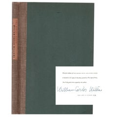 Signed Limited William Carlos Wiliams' The Desert Music and Other Poems