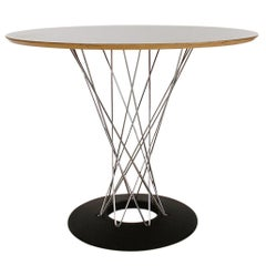 Signed Mid-Century Modern Round Cyclone Dining Table by Isamu Noguchi for Knoll