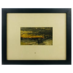 Signed Oil on Board by Listed Artist Frank Myers Boggs