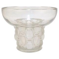 Signed Rene Lalique Art Deco Period Beautreillis Art Glass Vase