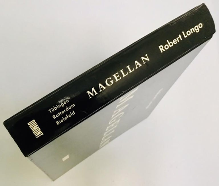 Late 20th Century Signed Robert Longo Magellan book  For Sale