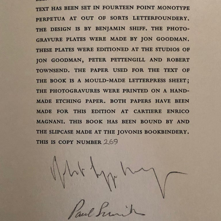 Modern Signed Robert Mapplethorpe a Season in Hell by Arthur Rimbaud First Edition 1986 For Sale