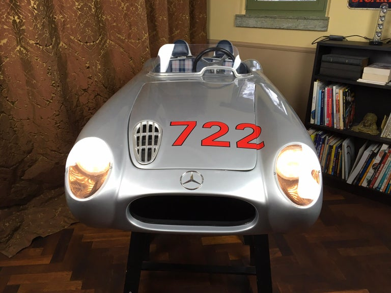 1/2 Scale Mercedes-Benz 300 SLR 722 Junior Car, Signed by Sir Sterling Moss  For Sale 11
