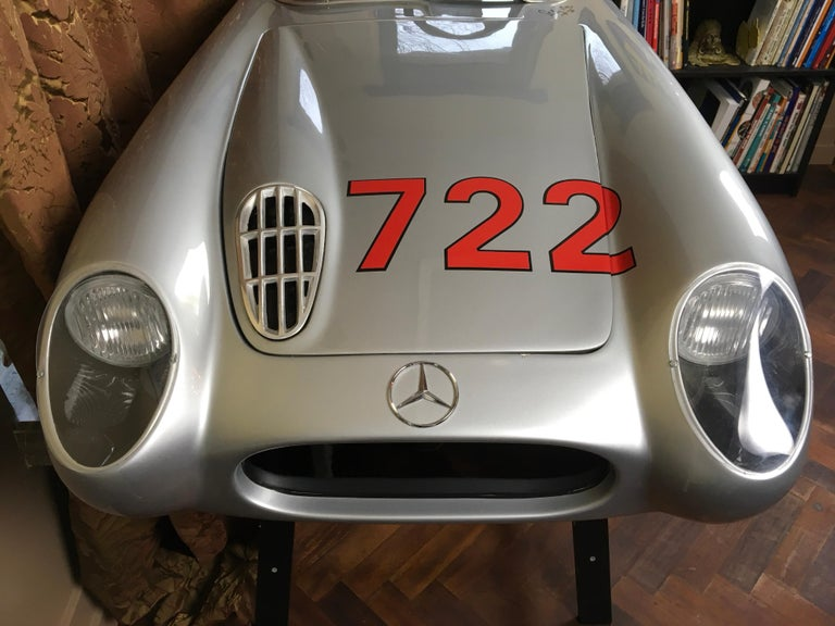Contemporary 1/2 Scale Mercedes-Benz 300 SLR 722 Junior Car, Signed by Sir Sterling Moss  For Sale