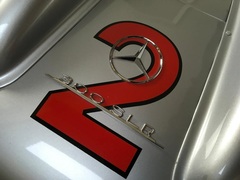 1/2 Scale Mercedes-Benz 300 SLR 722 Junior Car, Signed by Sir Sterling Moss  For Sale 2