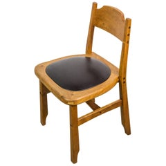 Signed Studio Chair by American Woodcraftsman Mike Bartell, 1993
