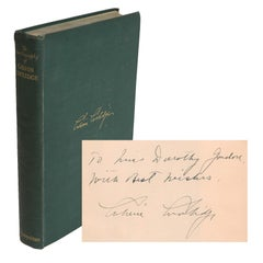 Signed The Autobiography of Calvin Coolidge, 1929