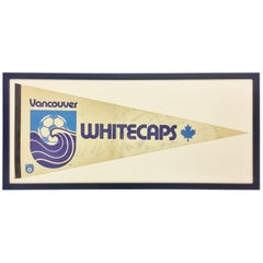 Signed Vancouver Whitecaps 1979 Championship Banner