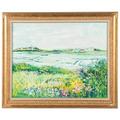 Signed Yolande Ardisonne Oil Painting