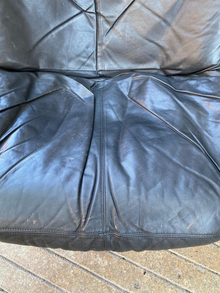 Sigurd Ressell Falcon Leather lounge Chair For Sale 2