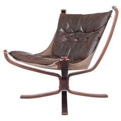Sigurd Ressell Falcon Lounge Chair Vatne Møbler, Norway, 1970