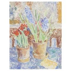 Sigurd Swane, Still Life with Flowers