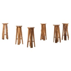 Sigvard Nilsson bar stools produced by Söwe in Sweden